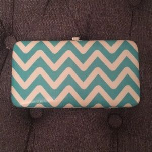 Handbags - Blue and white stripped wallet